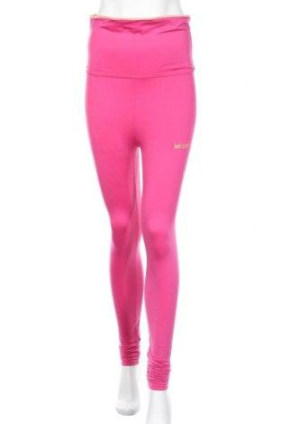Γυναικείο κολάν Just Cavalli, Μέγεθος M, Χρώμα Ρόζ , 85% πολυαμίδη, 15% ελαστάνη, Τιμή 34,64€