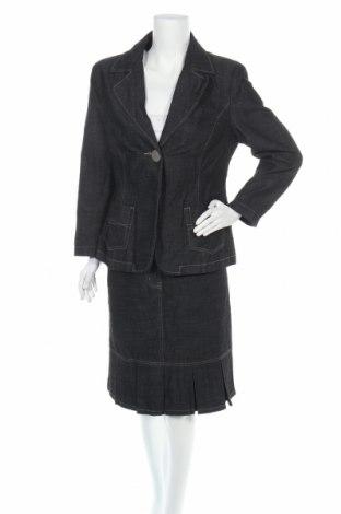Дамски комплект Authentic Clothing Company, Размер M, Цвят Син, 74% памук, 25% полиестер, 1% еластан, Цена 28,98лв.