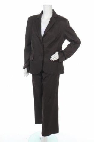 Дамски костюм Cool Water, Размер XL, Цвят Кафяв, 73% полиестер, 22% вискоза, 5% еластан, Цена 16,54лв.