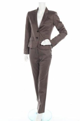 Дамски костюм Esprit, Размер S, Цвят Кафяв, 51% вискоза, 47% вълна, 2% еластан, Цена 28,56лв.