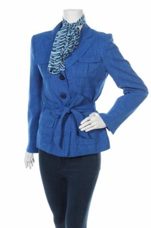 Дамско сако Gloria Vanderbilt, Размер M, Цвят Син, Полиестер, Цена 61,43лв.