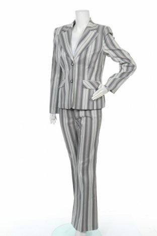 Дамски костюм Miss H., Размер M, Цвят Сив, 97% полиестер, 3% еластан, Цена 34,65лв.
