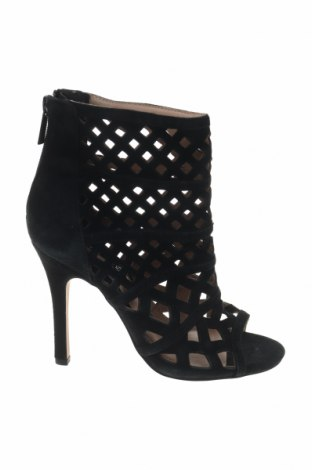 Γυναικείες μπότες καλοκαιρινές Reserved, Μέγεθος 36, Χρώμα Μαύρο, Φυσικό σουέτ, Τιμή 19,73€