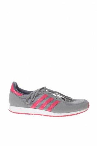 Γυναικεία παπούτσια Adidas, Μέγεθος 41, Χρώμα Γκρί, Κλωστοϋφαντουργικά προϊόντα, δερματίνη, Τιμή 28,76€