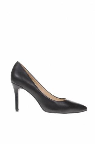 Γυναικεία παπούτσια CAFèNOIR, Μέγεθος 39, Χρώμα Μαύρο, Δερματίνη, Τιμή 26,72€