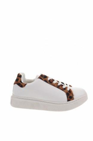 Γυναικεία παπούτσια Colors of California, Μέγεθος 38, Χρώμα Λευκό, Δερματίνη, φυσική τρίχα, Τιμή 36,57€