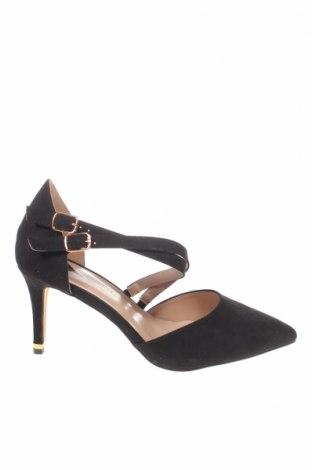 Γυναικεία παπούτσια Dorothy Perkins, Μέγεθος 40, Χρώμα Μαύρο, Κλωστοϋφαντουργικά προϊόντα, Τιμή 9,12€