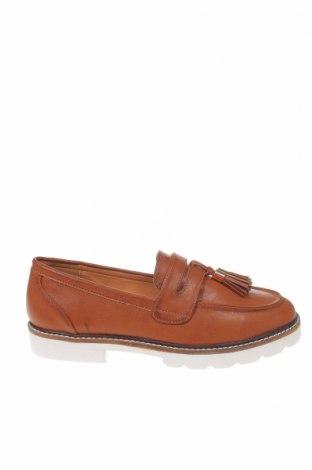 Γυναικεία παπούτσια Dorothy Perkins, Μέγεθος 42, Χρώμα Καφέ, Δερματίνη, Τιμή 23,12€