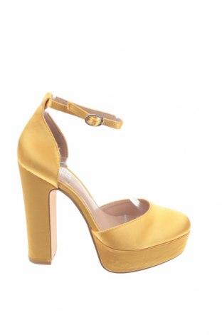 Дамски обувки Even&Odd, Размер 36, Цвят Жълт, Текстил, Цена 28,42лв.