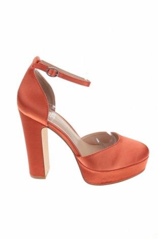 Дамски обувки Even&Odd, Размер 39, Цвят Оранжев, Текстил, Цена 17,70лв.