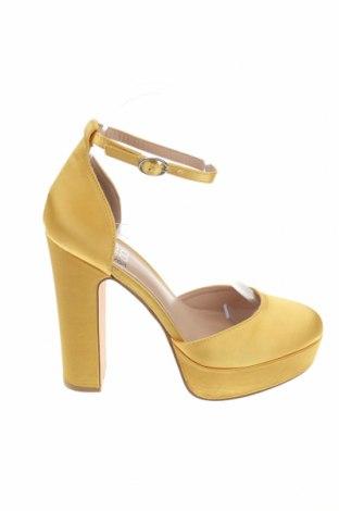 Дамски обувки Even&Odd, Размер 38, Цвят Жълт, Текстил, Цена 38,35лв.