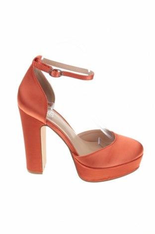 Дамски обувки Even&Odd, Размер 38, Цвят Оранжев, Текстил, Цена 31,85лв.