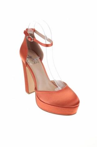 Дамски обувки Even&Odd, Размер 38, Цвят Оранжев, Текстил, Цена 36,75лв.