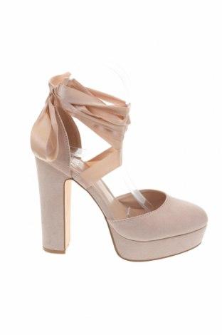Дамски обувки Even&Odd, Размер 38, Цвят Бежов, Текстил, Цена 38,35лв.