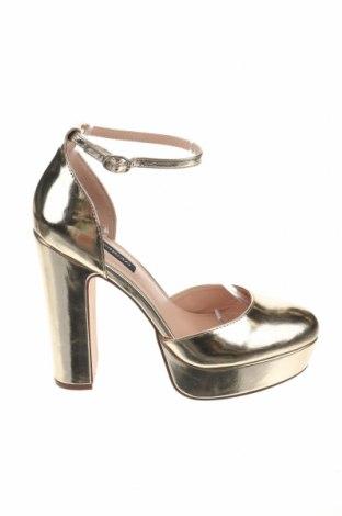 Дамски обувки Even&Odd, Размер 40, Цвят Златист, Еко кожа, Цена 17,70лв.