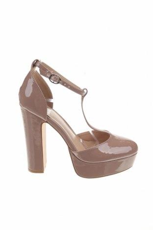 Дамски обувки Even&Odd, Размер 38, Цвят Бежов, Еко кожа, Цена 38,35лв.