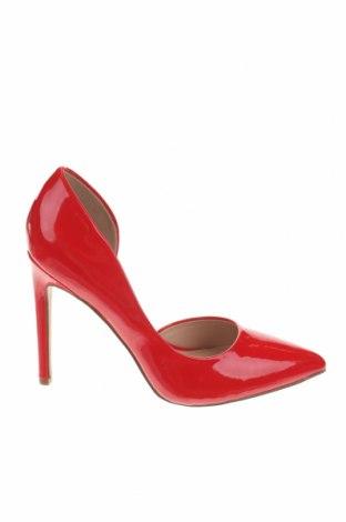 Дамски обувки Even&Odd, Размер 38, Цвят Червен, Еко кожа, Цена 31,85лв.