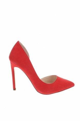 Дамски обувки Even&Odd, Размер 37, Цвят Червен, Текстил, Цена 38,35лв.