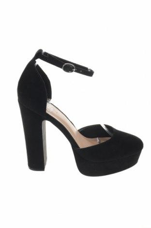 Дамски обувки Even&Odd, Размер 38, Цвят Черен, Текстил, Цена 38,35лв.
