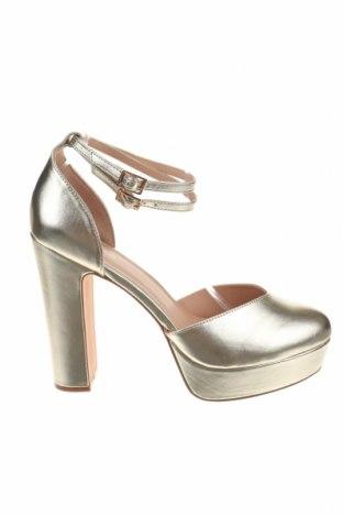 Дамски обувки Even&Odd, Размер 42, Цвят Златист, Еко кожа, Цена 38,35лв.