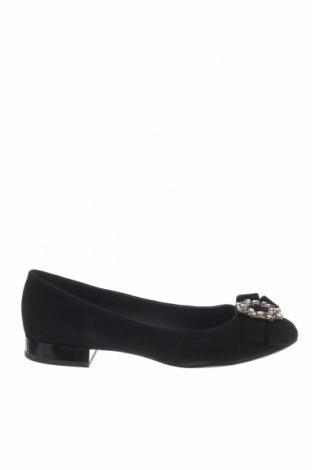 Γυναικεία παπούτσια Geox, Μέγεθος 40, Χρώμα Μαύρο, Φυσικό σουέτ, Τιμή 76,80€