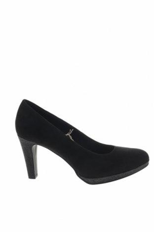 Γυναικεία παπούτσια Marco Tozzi, Μέγεθος 41, Χρώμα Μαύρο, Κλωστοϋφαντουργικά προϊόντα, Τιμή 26,68€