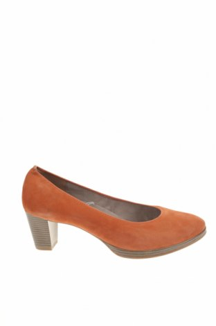 Γυναικεία παπούτσια Marco Tozzi, Μέγεθος 42, Χρώμα Πορτοκαλί, Φυσικό σουέτ, Τιμή 39,33€