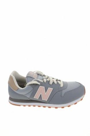 Γυναικεία παπούτσια New Balance, Μέγεθος 40, Χρώμα Γκρί, Δερματίνη, κλωστοϋφαντουργικά προϊόντα, Τιμή 57,37€