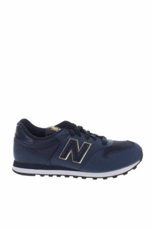 Γυναικεία παπούτσια New Balance, Μέγεθος 38, Χρώμα Μπλέ, Κλωστοϋφαντουργικά προϊόντα, Τιμή 65,33€
