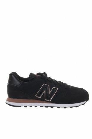Γυναικεία παπούτσια New Balance, Μέγεθος 40, Χρώμα Μαύρο, Δερματίνη, Τιμή 65,33€