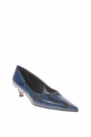 Γυναικεία παπούτσια Oxitaly, Μέγεθος 37, Χρώμα Μπλέ, Γνήσιο δέρμα, Τιμή 16,48€