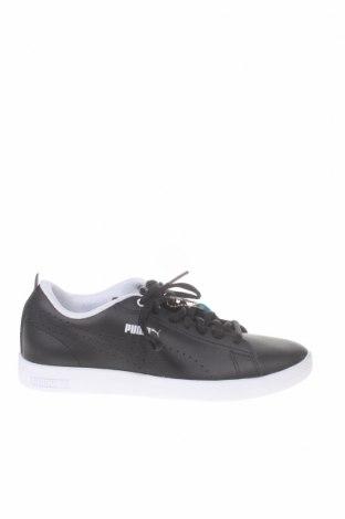 Γυναικεία παπούτσια PUMA, Μέγεθος 37, Χρώμα Μαύρο, Γνήσιο δέρμα, Τιμή 81,96€