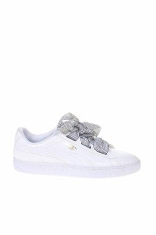 Γυναικεία παπούτσια PUMA, Μέγεθος 38, Χρώμα Λευκό, Δερματίνη, Τιμή 76,80€