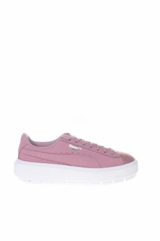 Γυναικεία παπούτσια PUMA, Μέγεθος 37, Χρώμα Βιολετί, Δερματίνη, κλωστοϋφαντουργικά προϊόντα, Τιμή 61,47€