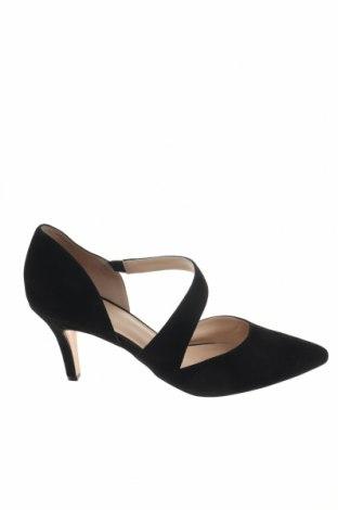 Γυναικεία παπούτσια Pier One, Μέγεθος 40, Χρώμα Μαύρο, Φυσικό σουέτ, Τιμή 49,87€