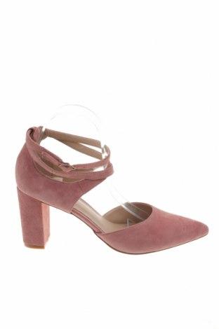 Γυναικεία παπούτσια Pier One, Μέγεθος 40, Χρώμα Ρόζ , Φυσικό σουέτ, Τιμή 43,22€