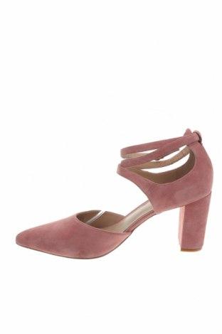 Γυναικεία παπούτσια Pier One, Μέγεθος 40, Χρώμα Ρόζ , Φυσικό σουέτ, Τιμή 19,95€