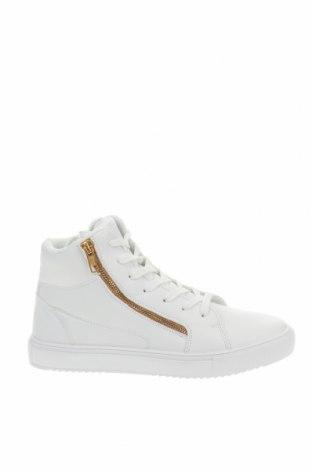 Γυναικεία παπούτσια Pier One, Μέγεθος 37, Χρώμα Λευκό, Δερματίνη, Τιμή 23,12€
