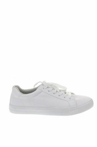Γυναικεία παπούτσια Pier One, Μέγεθος 40, Χρώμα Λευκό, Δερματίνη, Τιμή 21,29€