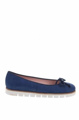 Дамски обувки Pretty Ballerinas, Размер 39, Цвят Син, Естествен велур, Цена 55,72лв.