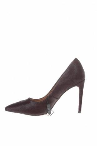 Γυναικεία παπούτσια Reserved, Μέγεθος 37, Χρώμα Βιολετί, Φυσική τρίχα, Τιμή 38,27€