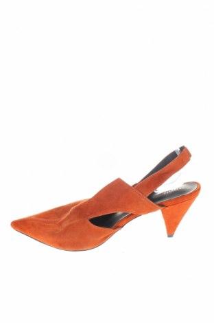 Γυναικεία παπούτσια Reserved, Μέγεθος 40, Χρώμα Πορτοκαλί, Φυσικό σουέτ, Τιμή 16,84€