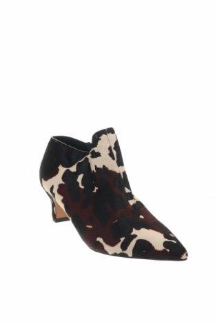 Дамски обувки Reserved, Размер 39, Цвят Многоцветен, Естествен косъм, Цена 19,80лв.