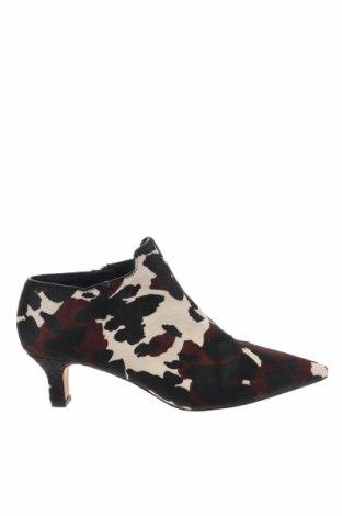 Дамски обувки Reserved, Размер 40, Цвят Многоцветен, Естествен косъм, Цена 19,80лв.