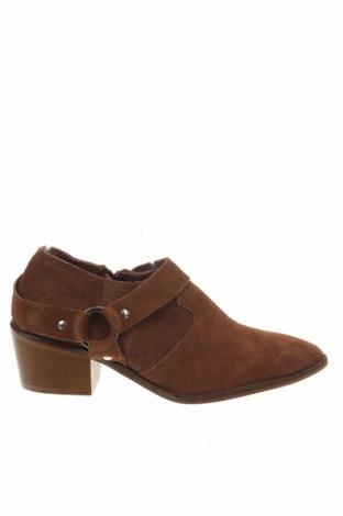 Γυναικεία παπούτσια Reserved, Μέγεθος 36, Χρώμα Καφέ, Φυσικό σουέτ, Τιμή 13,76€