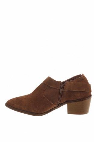 Γυναικεία παπούτσια Reserved, Μέγεθος 36, Χρώμα Καφέ, Φυσικό σουέτ, Τιμή 12,85€