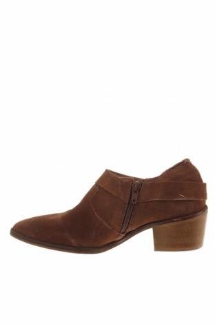 Γυναικεία παπούτσια Reserved, Μέγεθος 37, Χρώμα Καφέ, Φυσικό σουέτ, Τιμή 13,76€