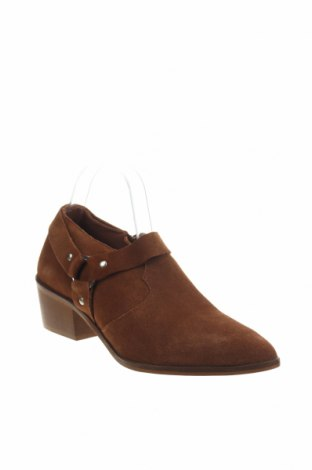 Γυναικεία παπούτσια Reserved, Μέγεθος 40, Χρώμα Καφέ, Φυσικό σουέτ, Τιμή 13,76€