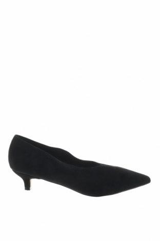 Γυναικεία παπούτσια Reserved, Μέγεθος 38, Χρώμα Μαύρο, Φυσικό σουέτ, Τιμή 31,70€