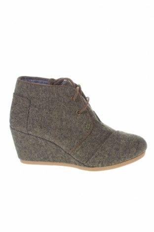 Γυναικεία παπούτσια Toms, Μέγεθος 36, Χρώμα Γκρί, Κλωστοϋφαντουργικά προϊόντα, Τιμή 20,63€